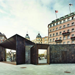 Ferry Terminal Buildings - Image courtesy of Johan Fowelin