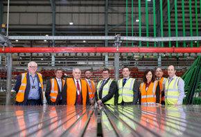 1-Caroline Flint MP visits Senior's factory