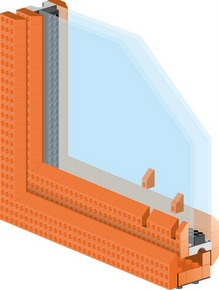 1-PR010 - building blocks window profile