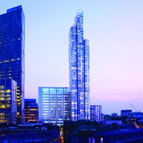 Principal Tower CGI by VYONYX based on photography of Nigel Young