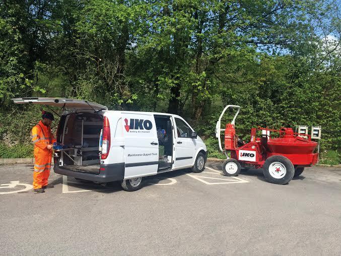 Rapid Response For Iko Mastic Asphalt Hot Charge Tankers