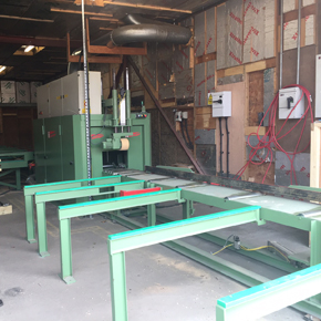 4-sider joinery machine