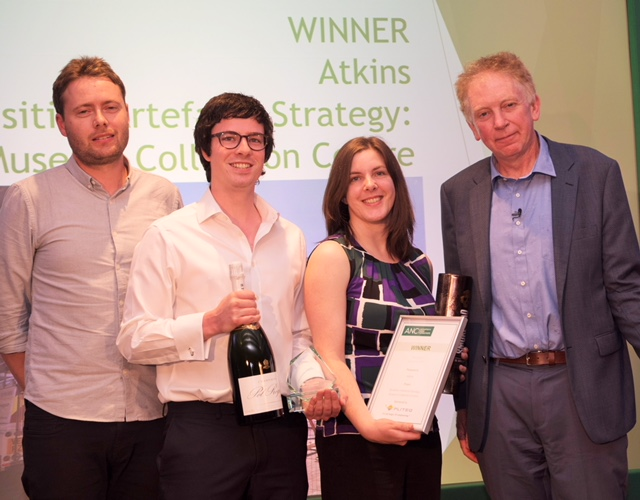 James Bligh of Pliteq, Matthew Thomson and Louise Morris of Atkins, and Dr Hugh Hunt.