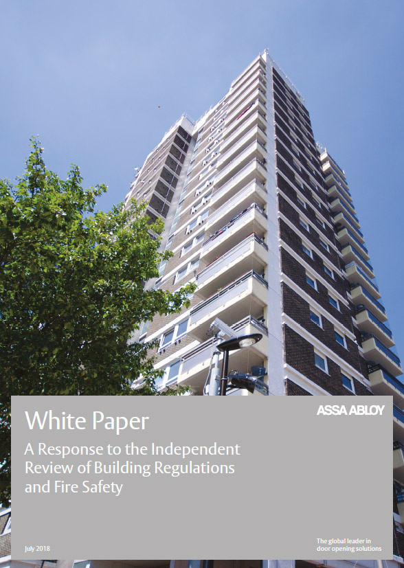 ASSA ABLOY UK whitepaper cover