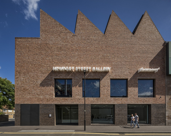 The Newport Street Gallery in Vauxhall designed by architects Caruso St John. Newport Street Gallery, Vauxhall, United Kingdom. Architect: Caruso St John, 2016.