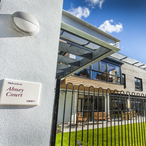 Abney Court care home featuring the Spectus PVC-U window system