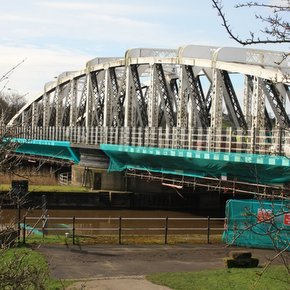 Acton Bridge works wide view from Leigh Arms (2)