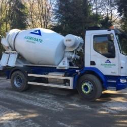 Aggregate Industries Minimix Truck