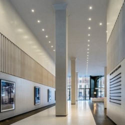 Minster Buildings, 3 Minster Court reception areas and atrium, London. 21 March 2018