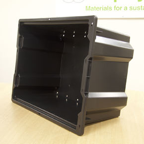 Axion polymers recycled plastic box