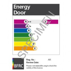 BFRC Doorset Energy Ratings