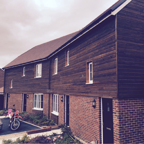 Canjaere Classic used on the Bloor Homes seaside development in Dorset