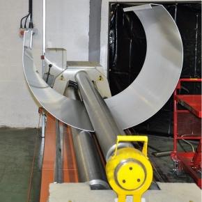 Bullnose panel rolling from 3mm aluminium
