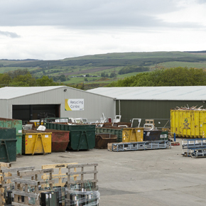 CMS Window Systems' recycling centre