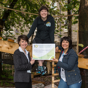 CMS donation - Baltic Street Adventure Playground