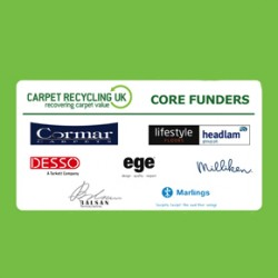 Carpet Recycling UK's core funders