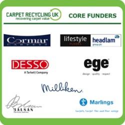 Carpet Recycling UK Core Funders Logos