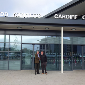 Cardiff Central Handshake FOR USE