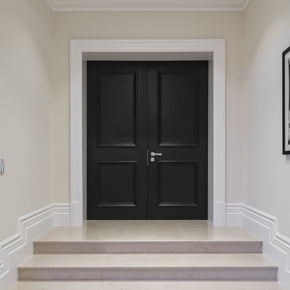 & Bespoke Artisan panel doors specified for luxury Surrey mansion