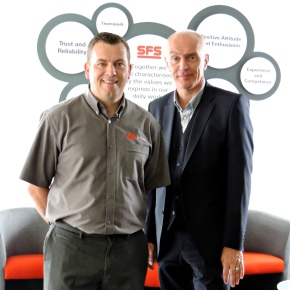 David Osborne with Colin Black - SFS Intec
