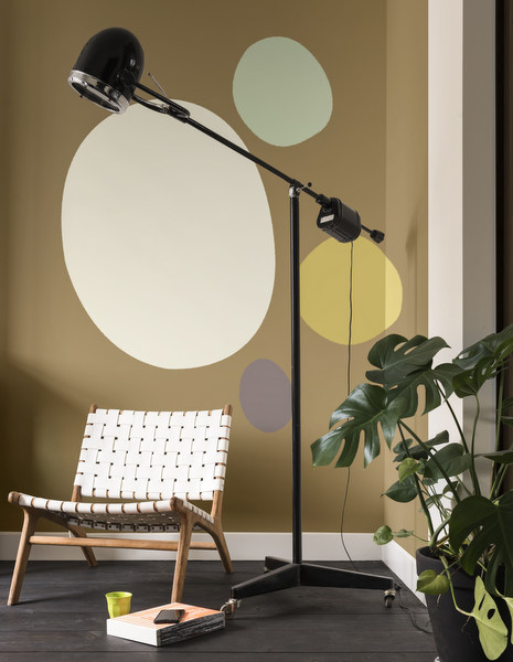 Dulux ColourFutures™ 2018_Playful Home_Cherised Gold, Salisbury Stones 5, Fresh Artichoke, heart Wood, Golden Sands