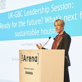 Ecobuild17 sustainability talk