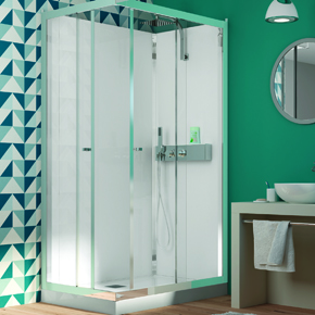 Eden corner shower cubicle