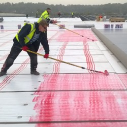 Erith IKO Polymeric Amourplan fitted to new grocery centre