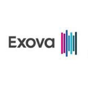 Exova square logo