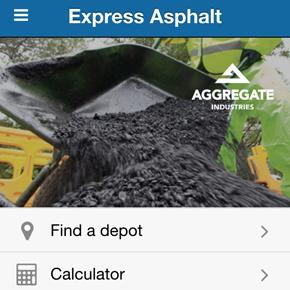 Express Asphalt app