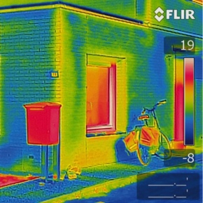 FLIR871-MSX technology thermal image_