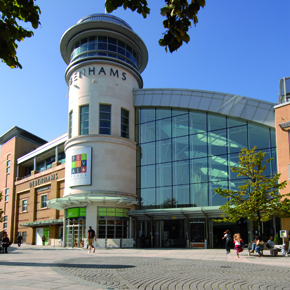 Festival Place in Basingstoke