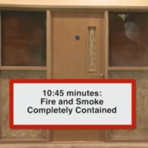 Fire Resistant Video Image at 10.45