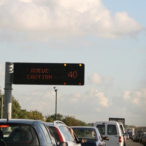 Congestion caused by increase LCV van use