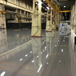 GE Energy factory floor