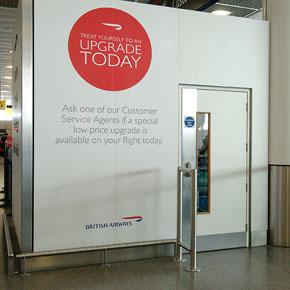 Ahmarra fire door at Gatwick Airport