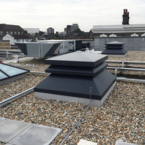 Gilberts hybrid roof solution