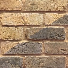 Handmade bricks with tint applied