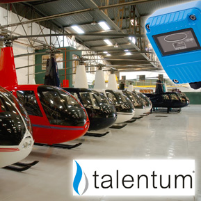 FFE's Talentum flame detectors at the Rzeszow helicopter repair facility