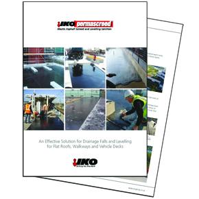 IKO's new Permascreed brochure