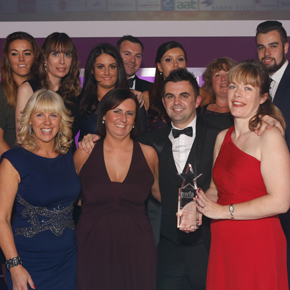 IKO's trio win at North West Finance Awards