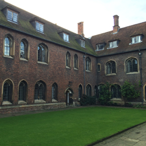 West wing at Cambridge University Queens' College