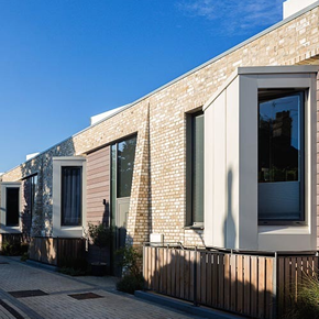 Heath Lodge with Marizale brick