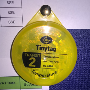 Monitoring energy efficiency with Tinytag Transit 2