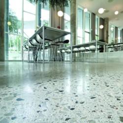 Monodic Grande Lux, polished concrete system