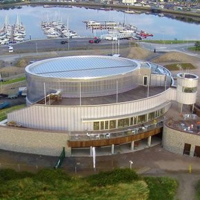 Liquid applied waterproofing systems for the Welsh National Sailing Academy and Events Centre
