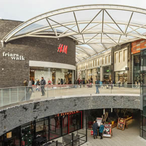Sika Watertight Concrete system specified for Friar's Walk