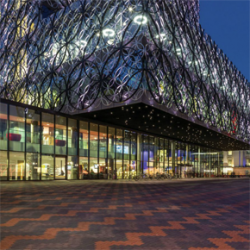 Landscape design at Birmingham Library