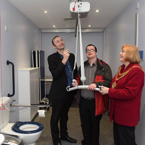 Changing Places assisted accessible toilet