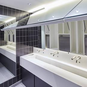 Prism Mirror Box System vanity units